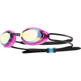 TYR Black Hawk Racing Mirrored Gafas Mujer, rosa/negro